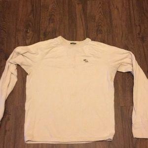 Abercrombie long sleeve men's shirt